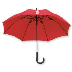 Regular umbrella for banks – 1014-04 (red)
