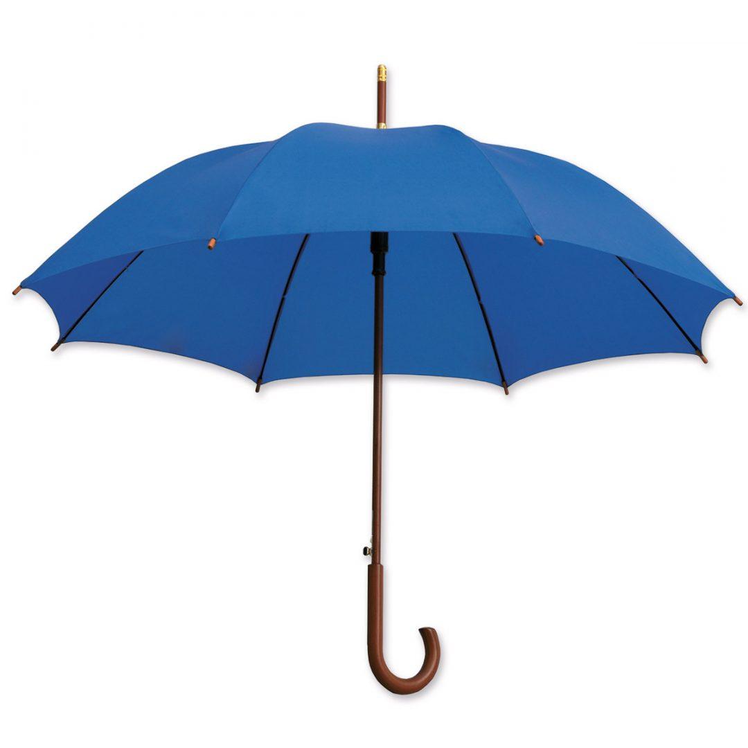 Regular Umbrella made of Wood – 1027-02 (navy)