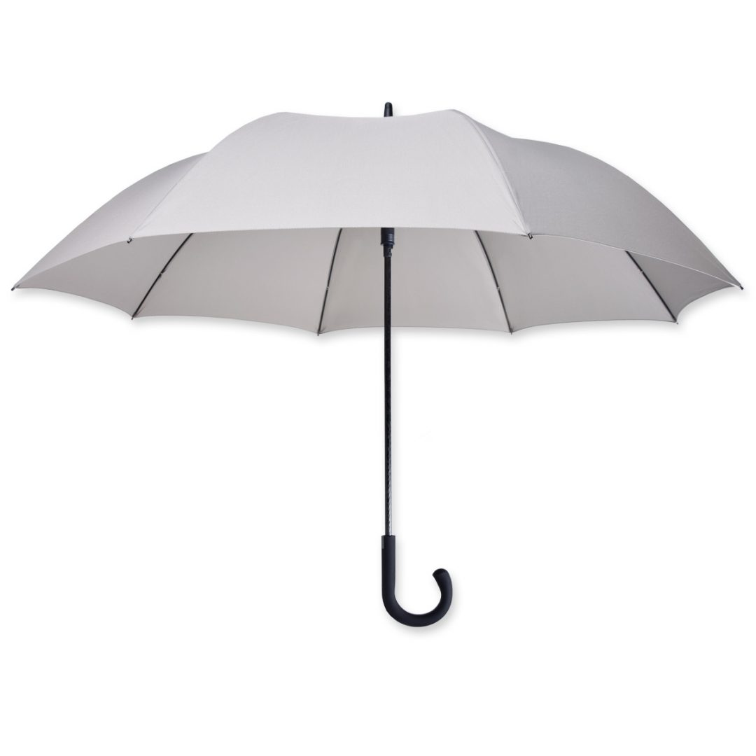 Midsize-Regular Umbrella with Hook Handle – 1031-03 (light grey)