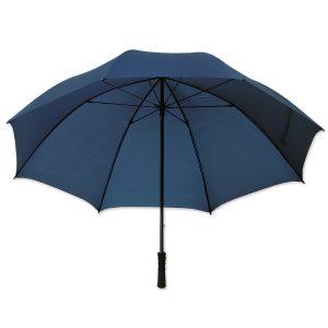 Dieser hochwertige Schirm ist in drei Farben verfügbar und mit Aufdruck ideal als Werbeschirm nutzbar.