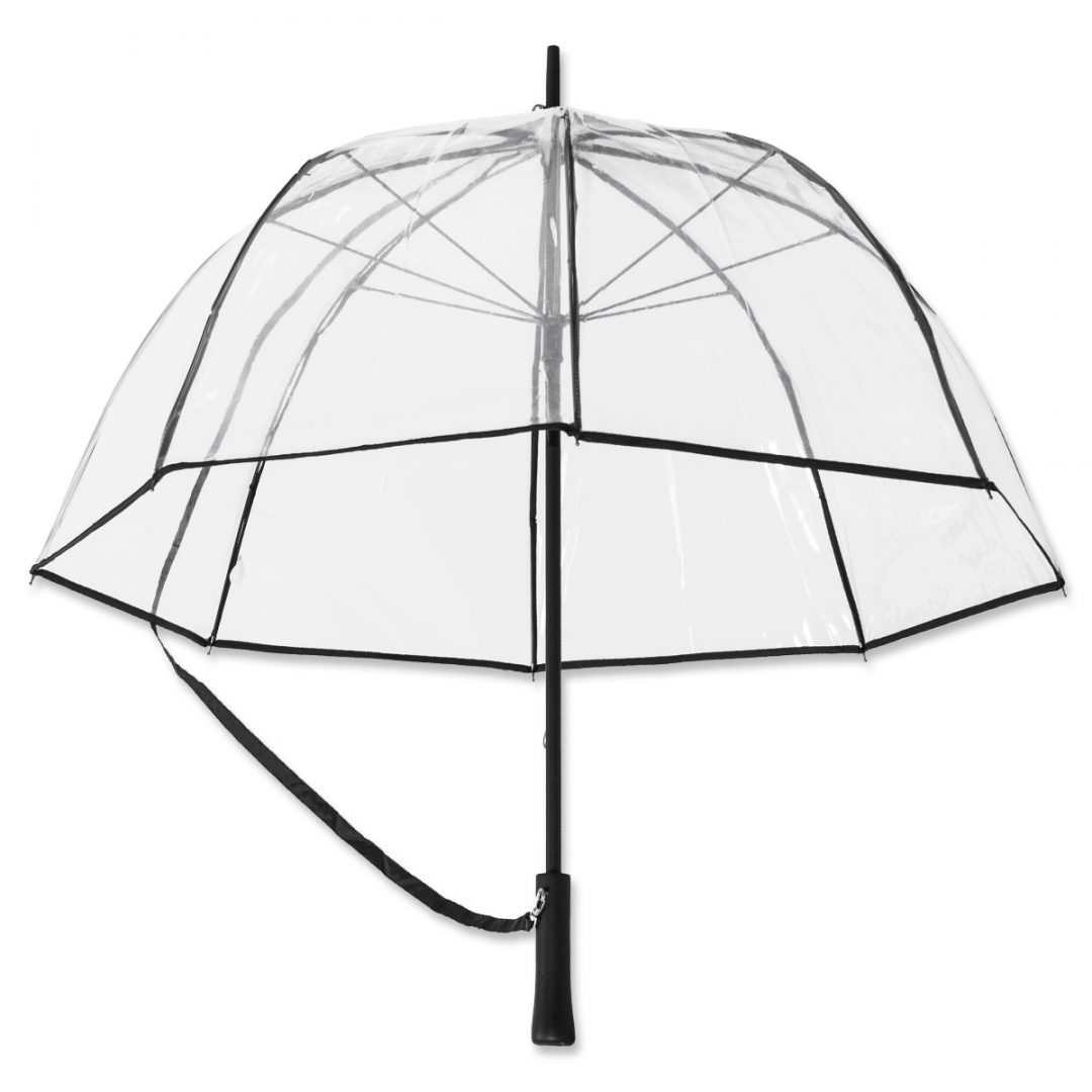 RetroMAXX – Transparent Umbrella in Retro Style – 1044-98 (transparent)