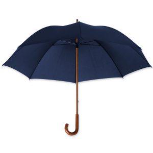 Dieser Regenschirm eignet sich besonders gut für Hotels und ist mit eigenem Logo bedruckbar.