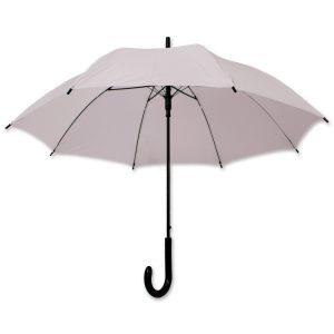 Dieser Regenschirm lässt sich ganz einfach mit eigenem Logo individualisieren und eignet sich als Werbegeschenk.