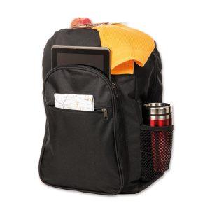 Günstiger Werberucksack mit großem Stauraum und eigenem Logoaufdruck.