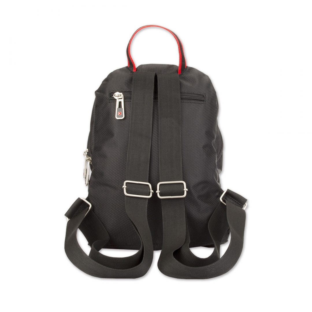 City-Backpack – 2012-01 (approx. 27 x 33 x 15 cm, black)