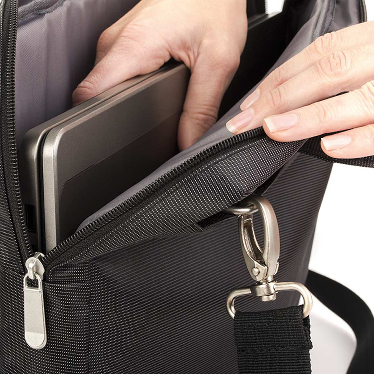 Laptop-Bag – 2015-01 (approx. 39 x 31 x 5 cm, black)